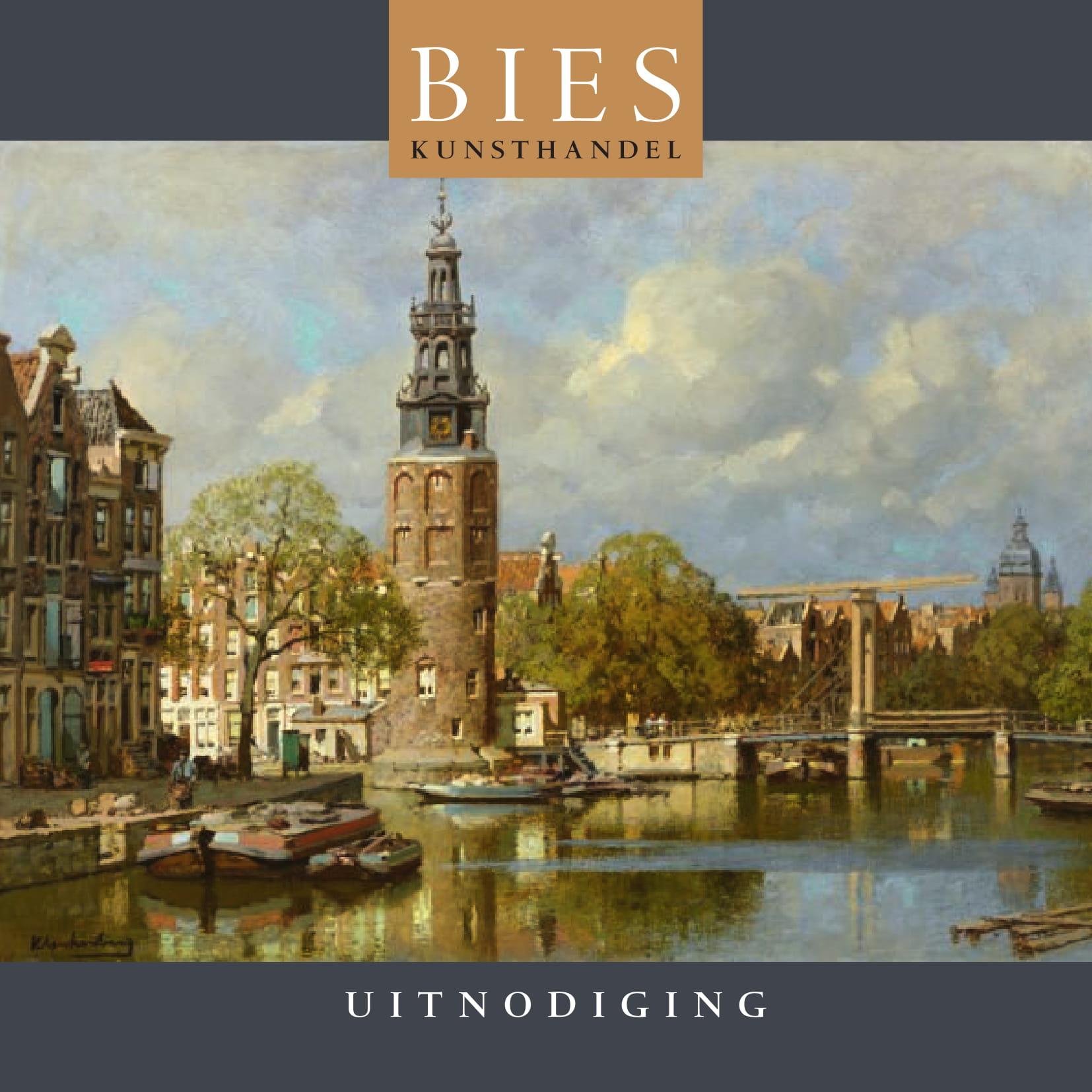 Brochure Tentoonstelling Kunsthandel Bies 2019