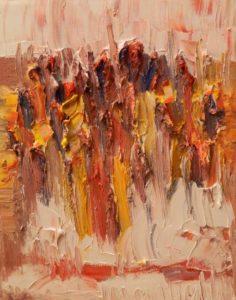 Abstracte Kunst   Hans Bies   Schilderij   Abstract 1995-02
