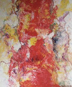 Abstracte kunst | Hans Bies | Schilderij | Abstract 2008-01