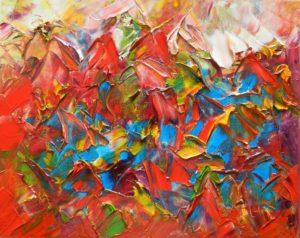 Abstracte Kunst | Hans Bies | Schilderij | Abstract 2009-01