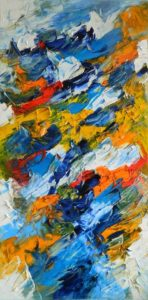 Abstracte Kunst | Hans Bies | Schilderij | Abstract 2009-02