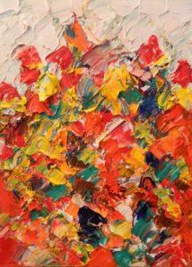 Abstracte Kunst | Hans Bies | Schilderij | Abstract 2010-01