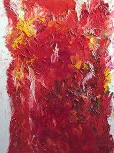 Abstracte kunst   Hans Bies   Schilderij   Abstract 2012-01