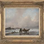 Andreas Schelfhout | Winterlandschap
