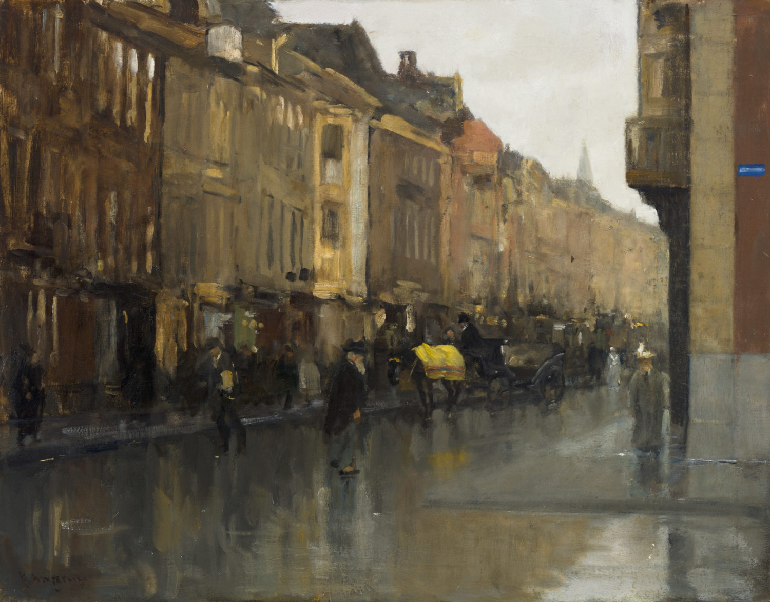 Floris Arntzenius | A view of Noordeinde, The Hagu | Kunsthandel Bies