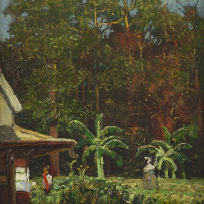 Frans Simon Baljon | Landschap te Suriname | Kunsthandel Bies
