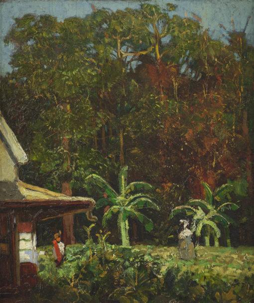 Frans Simon Baljon | Landschap te Suriname | Kunsthandel Bies