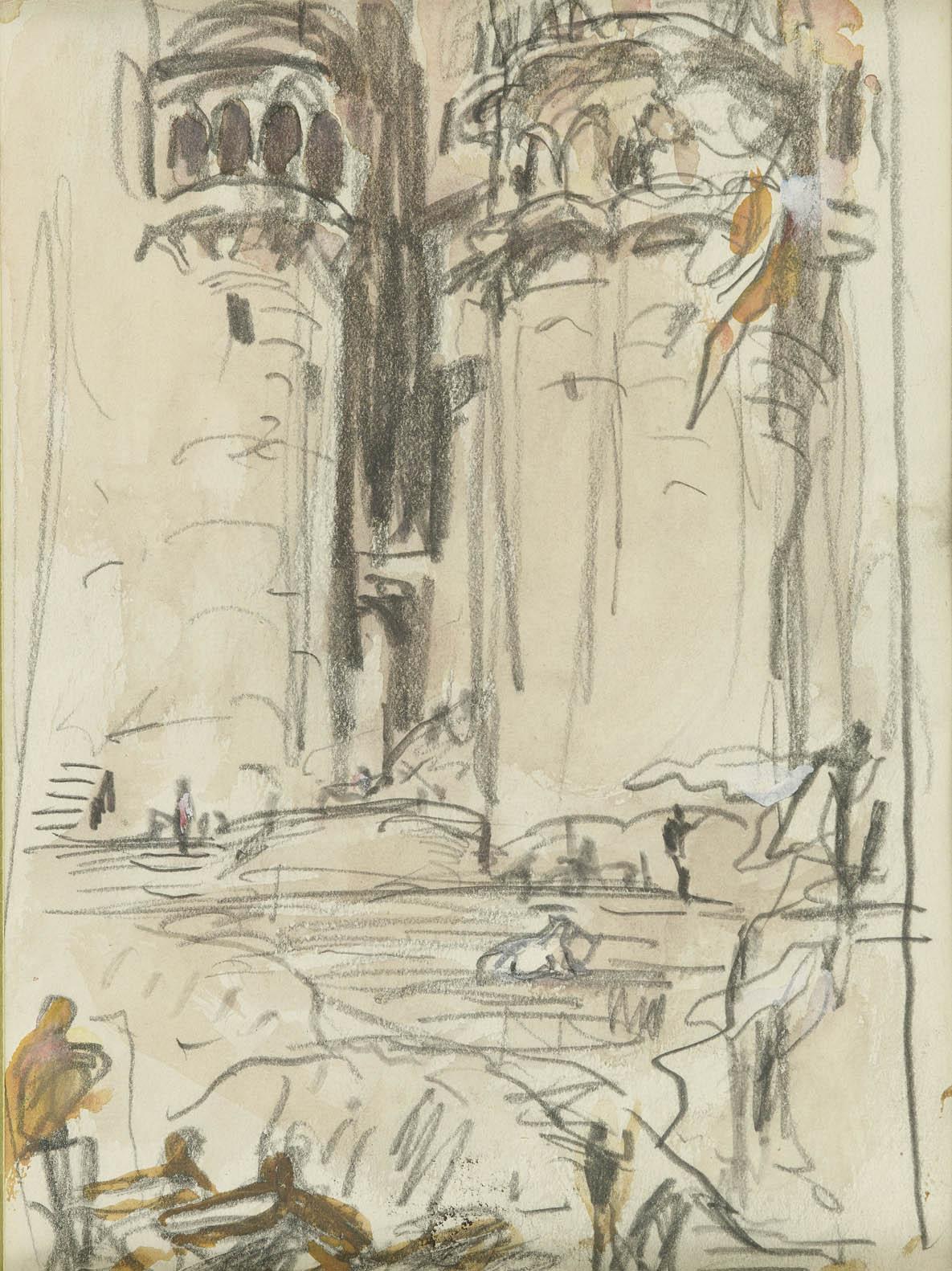 Marius Bauer | Een Oosters paleis | Kunsthandel Bies