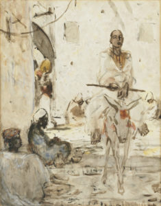 Marius Bauer | Oosters straatje in Tunis | Kunsthandel Bies