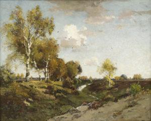 Theophile de Bock | De beek bij Wolfheze | Kunsthandel Bies