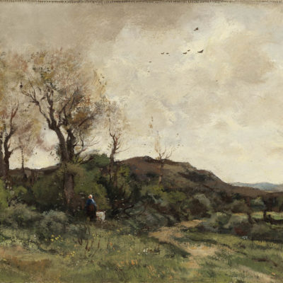 Theophile de Bock | Duinlandschap bij Den Haag | Kunsthandel Bies