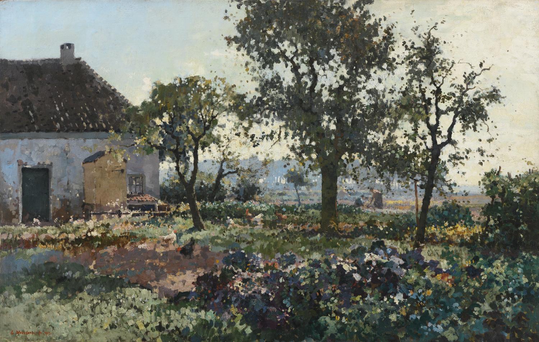 Cornelis Vreedenburgh | Octobermorgen | Kunsthandel Bies