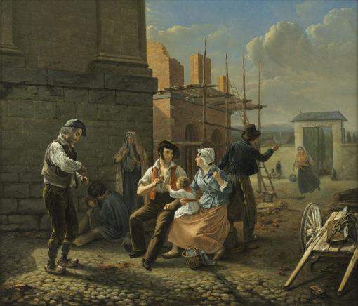 Jean Henri Decoene | Het middagmaal | Kunsthandel Bies