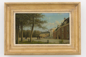 Johannes Josephus Destrée   Gezicht op Paleis Huis ten Bosch in Den Haag