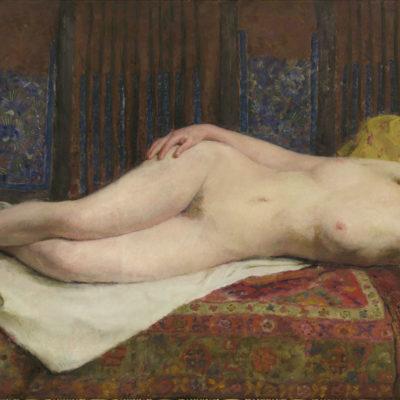 Marinus Dillen | Liggend naakt | Kunsthandel Bies