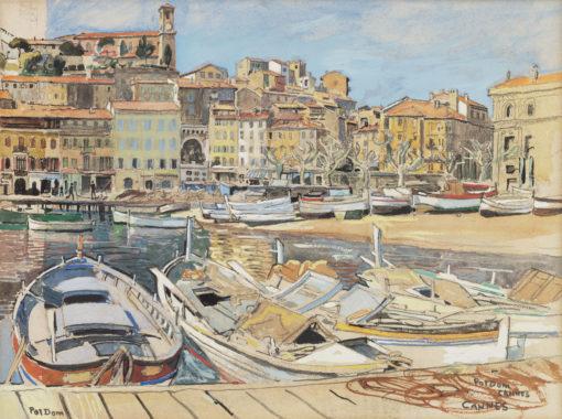 Pol Dom | De haven van Cannes | Kunsthandel Bies