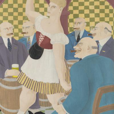 Ferdinand George Erfmann | Serveerster | Kunsthandel Bies