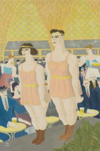 Ferdinand George Erfmann | Wintergarten, 1925 | Kunsthandel Bies