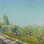 Ferdinand Hart Nibbrig | Uiterwaarden bij Rhenen | Kunsthandel Bies
