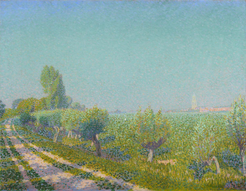 Ferdinand Hart Nibbrig | Uiterwaarden bij Rhenen | Kunsthandel Bies | Bies Gallery