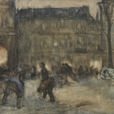 Floris Arntzenius | Den Haag, gezicht op het Buitenhof | Kunsthandel Bies