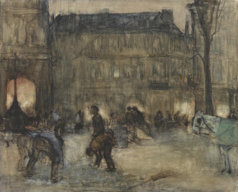 Floris Arntzenius | The Hague, a view of the Buitenhof | Kunsthandel Bies | Bies Gallery