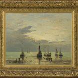 Hendrik Willem Mesdag | Terugkeer van de vissersvloot