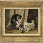 Henriette Ronner-Knip | De beste vrienden | Kunsthandel Bies