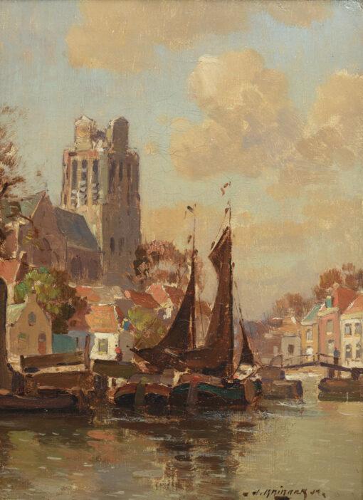 Jan Knikker Jr. | Dordrecht | Kunsthandel Bies