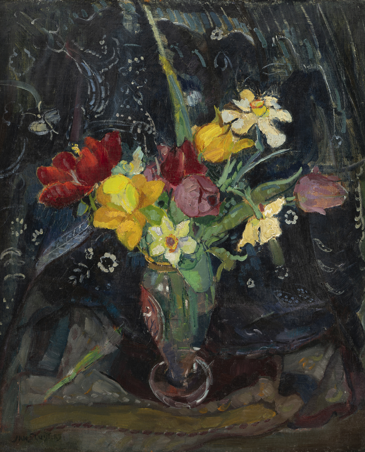 Jan Sluijters | Flowers in a vase | Kunsthandel Bies | Bies Gallery