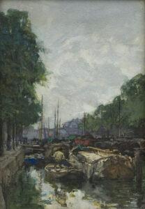 Johan Hendrik van Mastenbroek | Delfshaven | Kunsthandel Bies