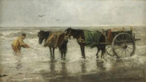 Johan Scherrewitz | De Schelpenvisser | Kunsthandel Bies