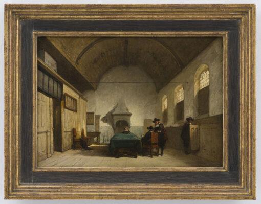 Johannes Bosboom   Consistoriekamer van de Kapelkerk in Alkmaar   Kunsthandel Bies