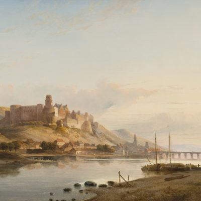 Kasparus Karsen | Gezicht op Heidelberg | Kunsthandel Bies