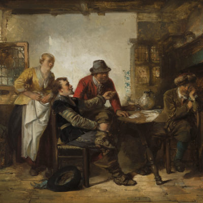 Herman Frederik Carel ten Kate | Herberginterieur | Kunsthandel Bies