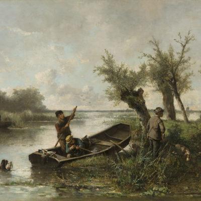Mari ten Kate | De eendenjacht | Kunsthandel Bies