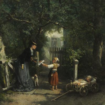 Mari ten Kate | De stille aanbidder | Kunsthandel Bies