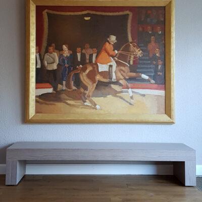 Kees Maks | De Hogeschoolrijder Jean Houcke | Kunsthandel Bies