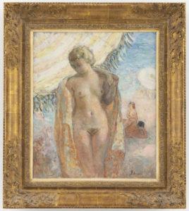 Henri Lebasque | Nu sur la plage | Kunsthandel Bies | Bies Gallery