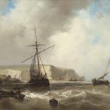Johan Hendrik Louis ('Louis') Meijer   Schepen voor de kust   Kunsthandel Bies