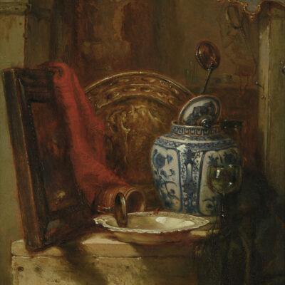 Maria Vos | Bij de antiquair | Kunsthandel Bies