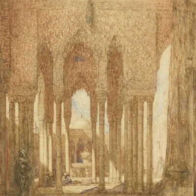 Marius Bauer | Alhambra, Granada | Kunsthandel Bies
