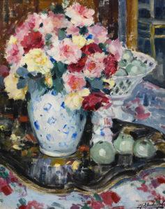Médard Verburgh   Les Roses   Kunsthandel Bies