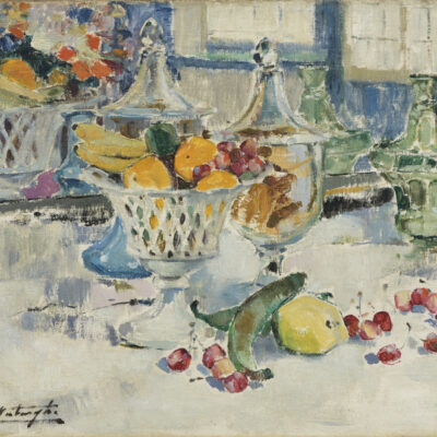 Médard Verburgh | Stilleven met fruit | Kunsthandel Bies