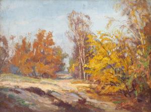Johan Meijer | Een zonnige herfstdag | Kunsthandel Bies