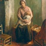 Albert Neuhuys | Moeder met kind | Kunsthandel Bies