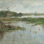 Geo Poggenbeek | Polderlandschap | Kunsthandel Bies