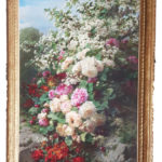 Jean Baptiste Robie | Stilleven met rozen | Kunsthandel Bies | foto smartphone