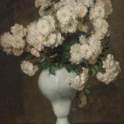 Georg Rueter | Vaas met bloemen | Kunsthandel Bies