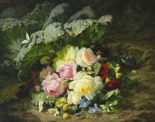 Simon Saint-Jean | Bloemstilleven | Kunsthandel Bies